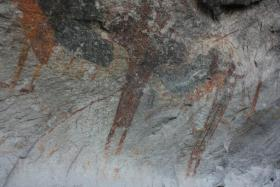 Lower Pecos Rock Art found at Seminole Canyon State Park, TX