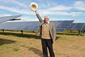 Bill Sinkin is a founder of Solar San Antonio, helping bring more solar power to the area.