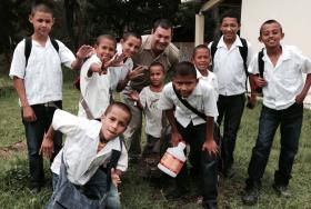 Outside of Tegucigalpa, a home for boys who are trying to get away from the gangs of Honduras.