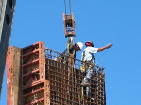 Houston construction workers