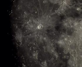 Staring down into the Copernicus impact crater