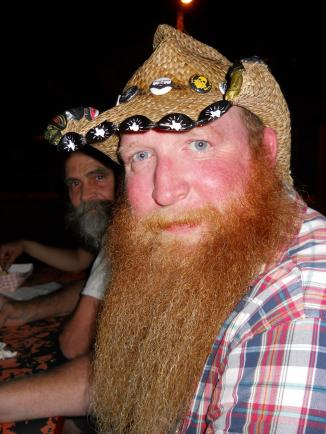 Alamo Beard Club member Andrew Diehl