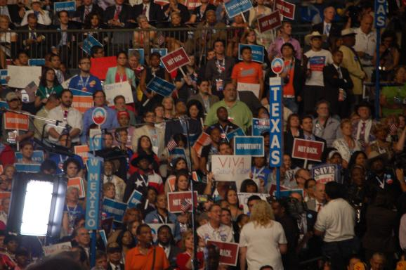 DNC Crowd