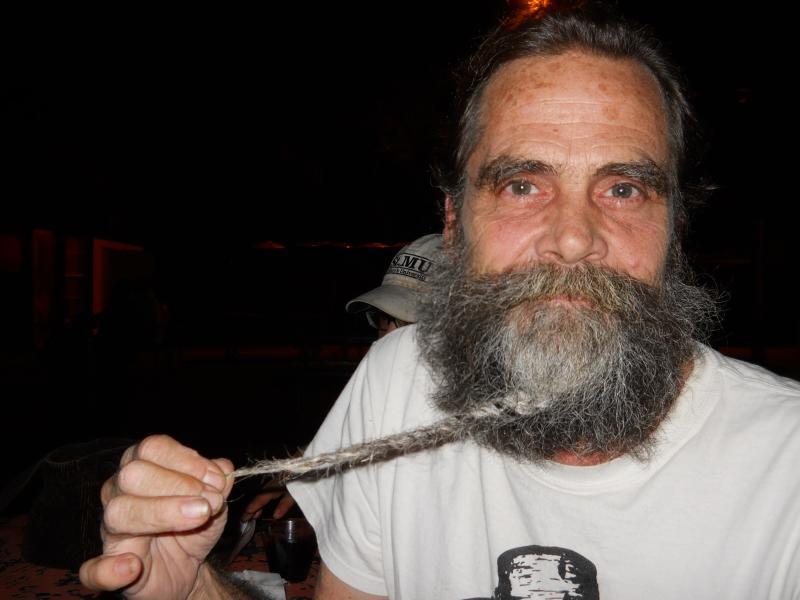Alamo Beard Club member Kevin Baker