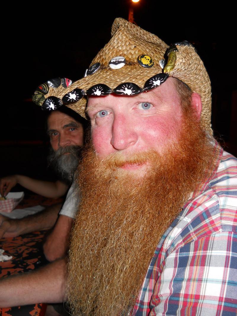 Alamo Beard Club member Andrew Diehl