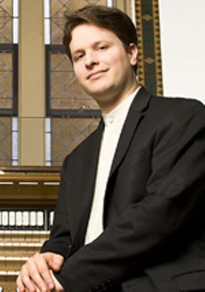 Organist Paul Jacobs.