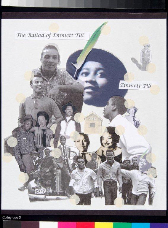 "Collage for ""The Ballad of Emmett Till,"" 2008"