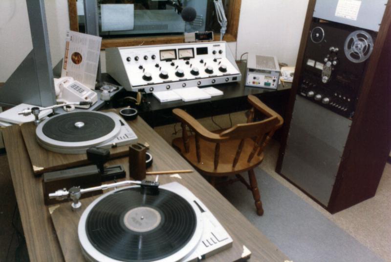 KPAC Control Room, 1982