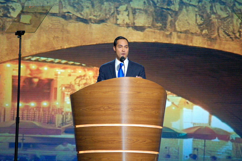 San Antonio Mayor Julián Castro told the nation he supports marriage equality at the Democratic National Convention in Sept. 2012.