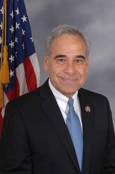Outgoing San Antonio Congressman Charlie Gonzalez in his 2012 congressional portrait.