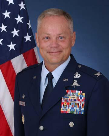 Col. Glenn Palmer out as man in charge of enlisted basic training for the U.S. Air Force.