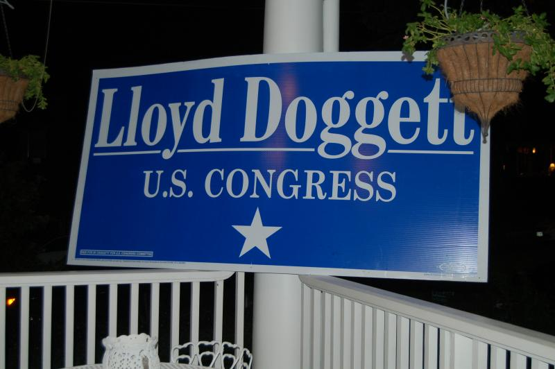 Democratic Congressman Lloyd Doggett won support in CD 35 to defeat opponent Republican Susan Narvaiz