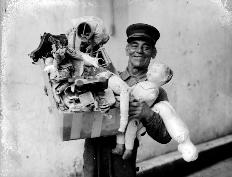 Firefighters from the 1930's held Toy Day to collect presents for the children of San Antonio