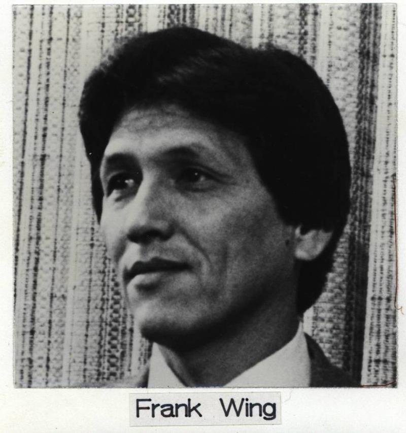 This photo of former Councilman Frank Wing dated 1990-1992.