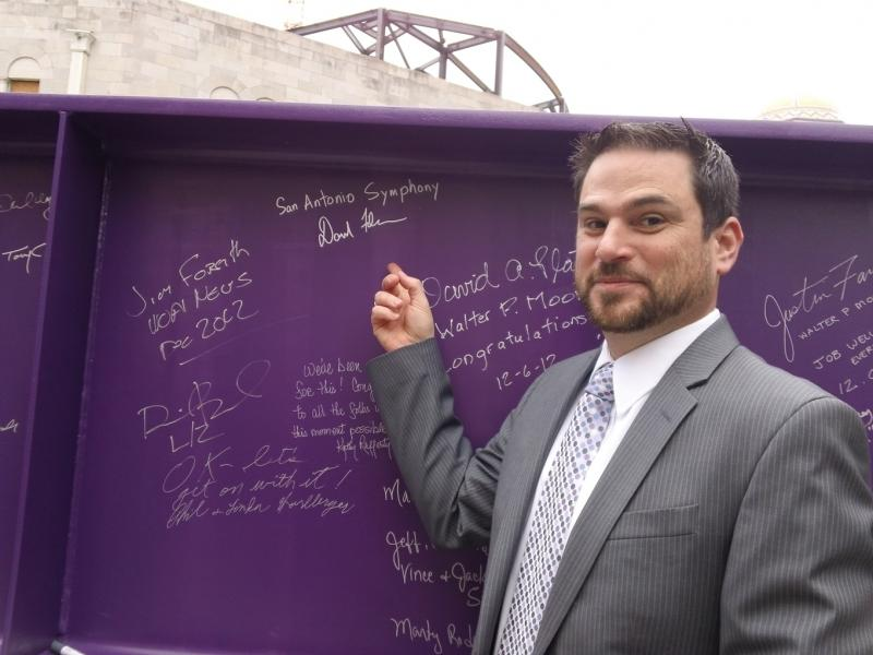 David Filner, Interim President and CEO of the San Antonio Symphony