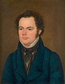 Franz Schubert a year before his death.