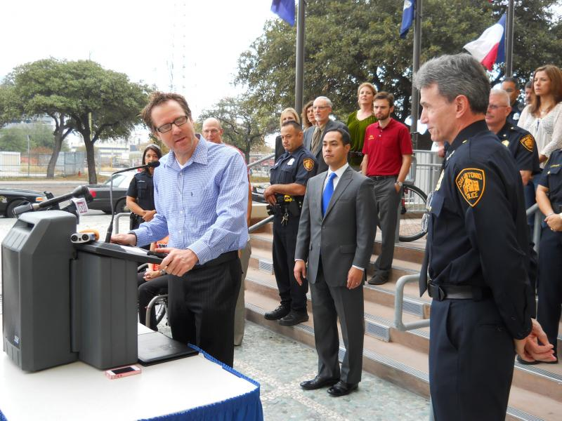 Mack Williams started petition to ask SAPD for stronger enforcement of bicycle safety laws