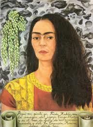 Frida Kahlo self-portrait 1944.