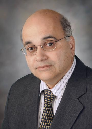 Dr. Ismail Jatoi, Professor and Chief, Surgical Oncology and the Dale H. Dorn Chair in Surgery at the UT Health Science Center.