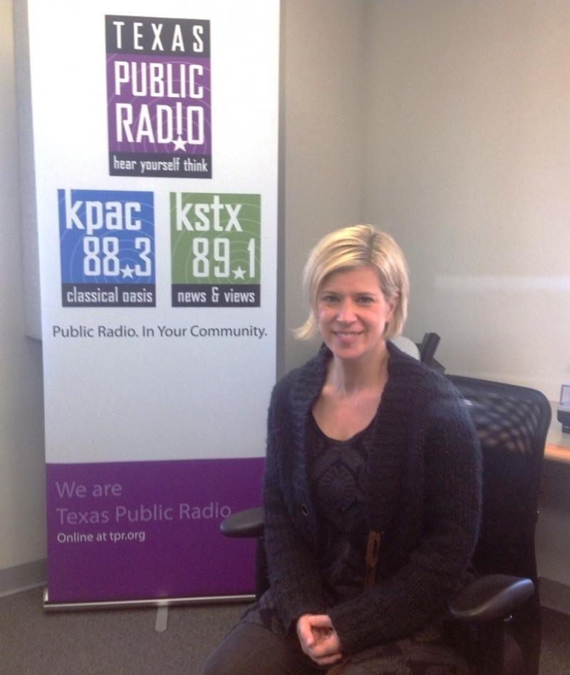 Conductor Karen Kamensek at TPR