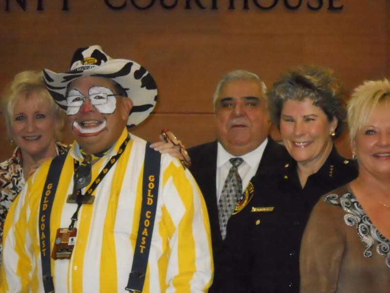 "Bexar County Commissioners proclaimed Feb. 7 ""Dress Western San Antonio Day"""