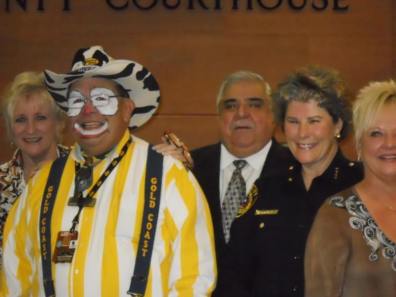 "Bexar County Commissioners proclaimed Feb. 7 ""Dress Western San Antonio Day"""