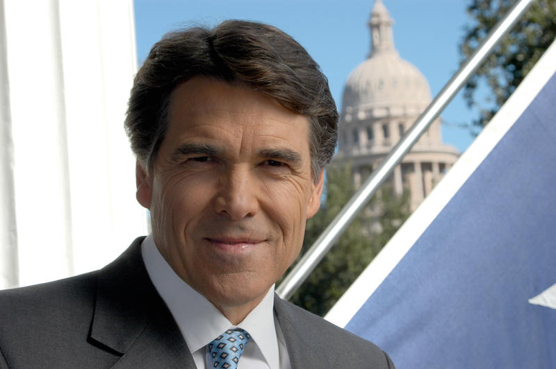Gov. Perry hosted the announcement at Texas A&M, his alma mater