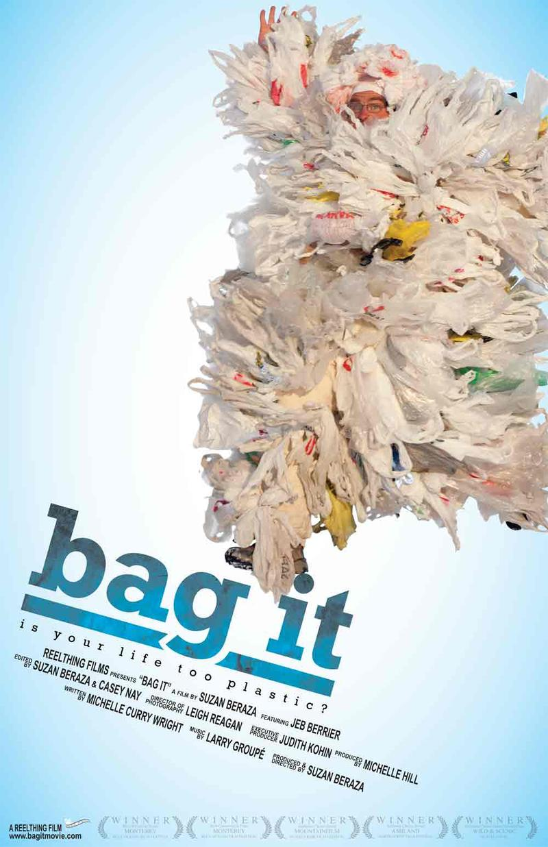 """Bag It!"" movie poster"