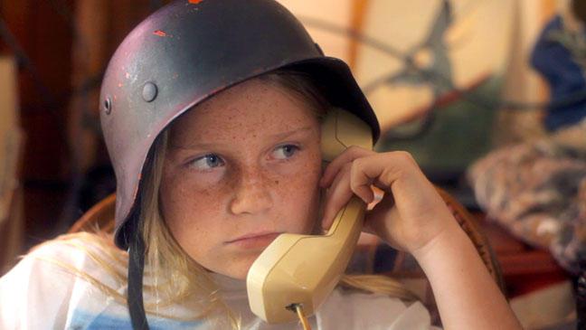 """Sydney Aguirre as """"Annie."""""""