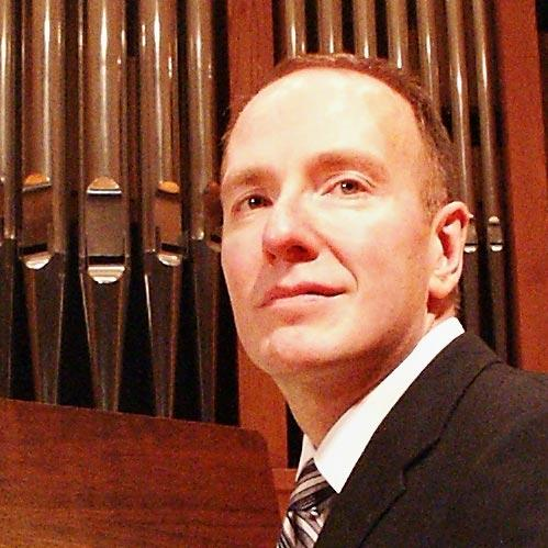 Organist David Heller
