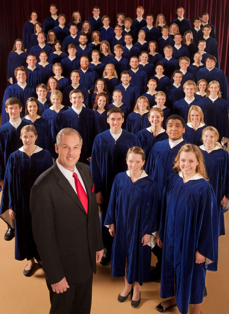 Rene Clausen and the Concordia Choir