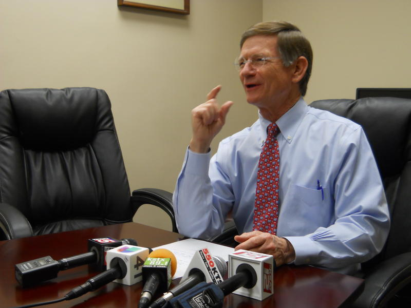 Congressman Lamar Smith speaks on the mandatory cuts to the federal government if congress does not come up with a budget by March 1.