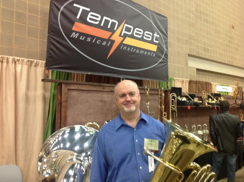 Lee Hipp, tuba San Antonio Symphony, at TMEA