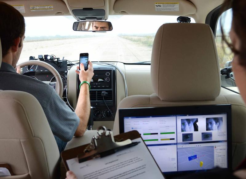 TTI is responsible for one of the nation's most extensive texting-while-driving studies – one that demonstrated how texting behind the wheel doubles a driver's reaction time.