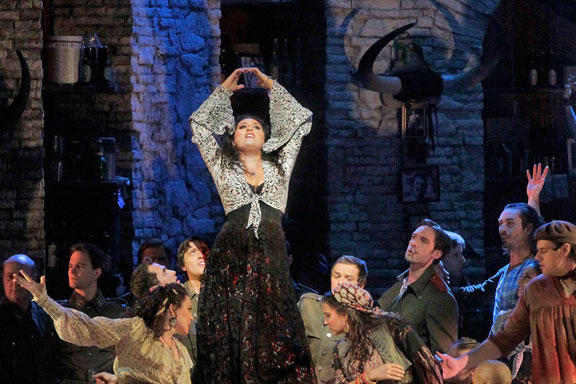 Anita Rachvelishvili features as Carmen in Bizet's classic.