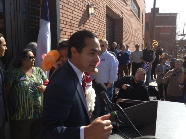 "Mayor Julián Castro formally announces his third re-election campaign and tells supporters he's ""not going anywhere"" in regards to seeking higher office."