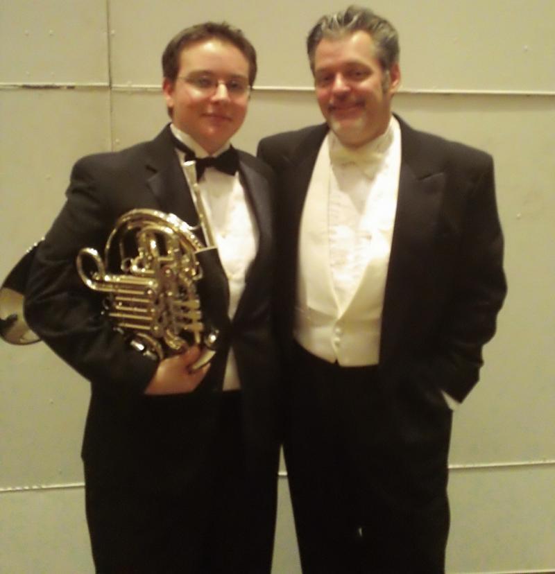Weston McCall & YOSA Music Director Troy Peters