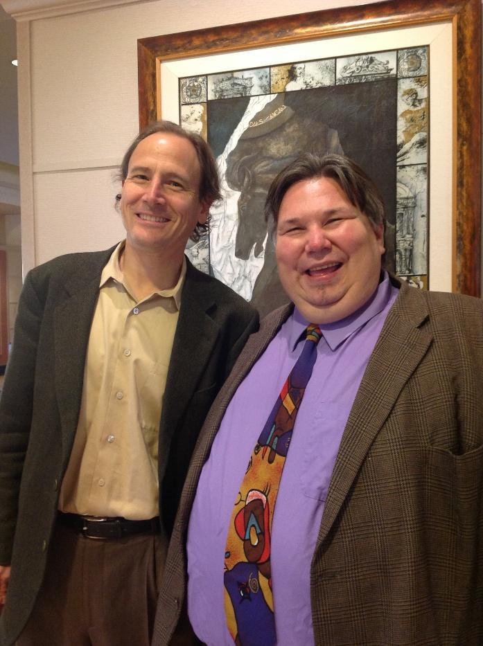 David Korevaar and John Clare