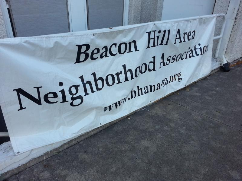 The Beacon Hill Neighborhood Association meets at the Beacon Hill Presbyterian Church on Woodlawn.