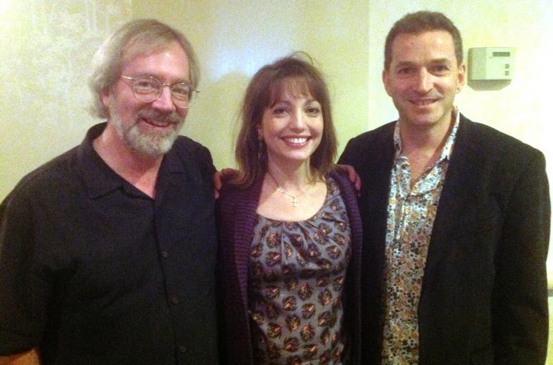 JAC Redford, Roxanna Panufnik, and Ben Parry