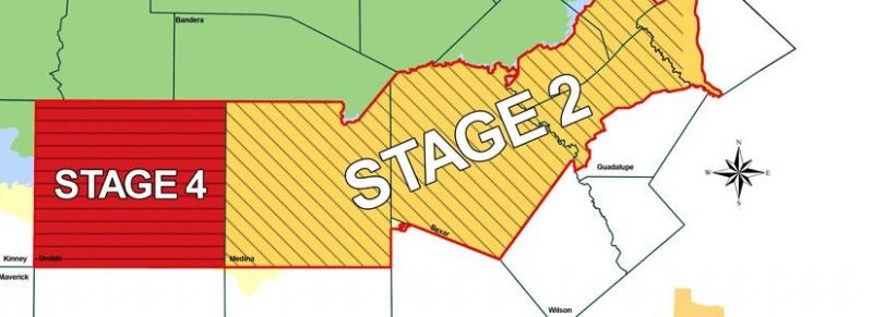 Just last week the Uvalde Pool was moved to Stage 4, The San Antonio Pool remains in Stage 2.