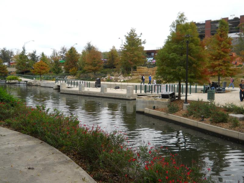 AIA New York Chapter director Rick Bell calls San Antonio's Riverwalk one of the finest linear green spaces in the U.S.