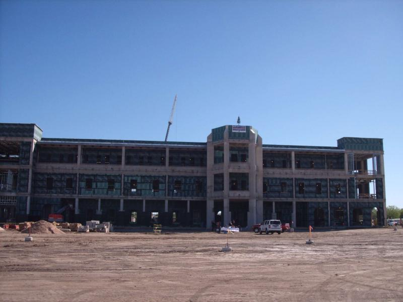 Texas A&M University-San Antonio is one example of continued construction success in San Antonio through the recession