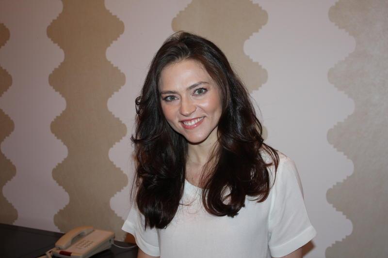 """Trieste Kelly Dunn, star of """"Loves Her Gun,"""" in Austin."""