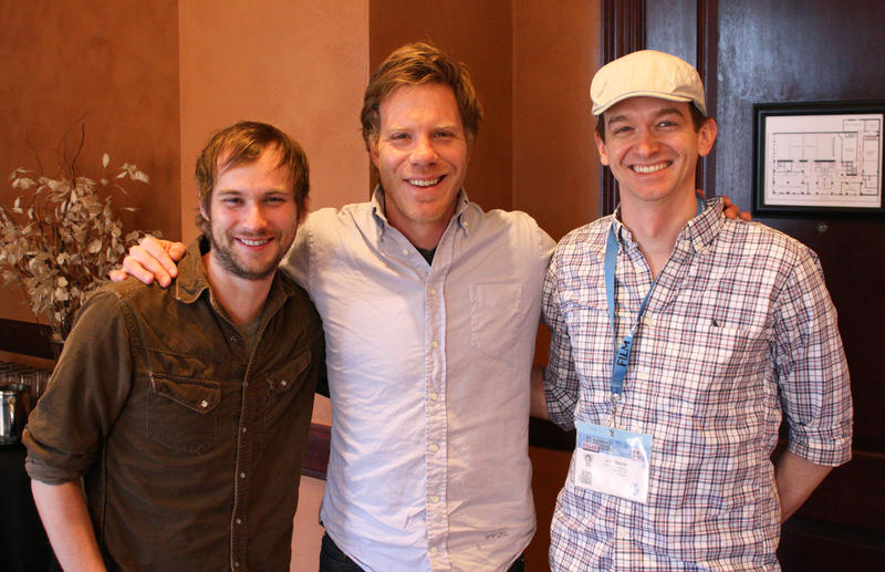 L to R: Actor Tobias Segal, writer/actor/co-director Marc Menchaca, and co-director Josh Barrett
