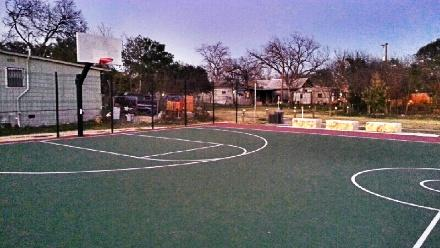 The basketball court in Beacon Hill is almost always in use, especially on evenings with perfect weather. BHNA treasurer Cosima Colvin says it was worth the wait.