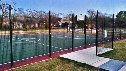 The Beacon Hill basketball court opened in late 2012 and is phase one of park construction plans in the Beacon Hill neighborhood.