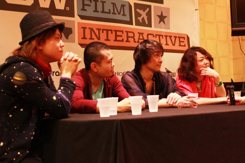 From left to right: Jack, Daisuke, Shuji, Kaori
