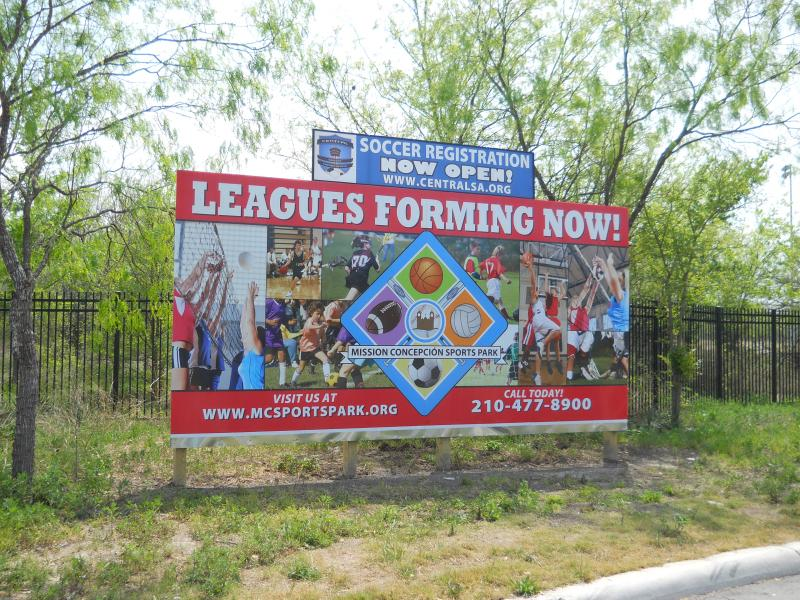 Now that the facility is open, sports leagues are now enrolling kids.