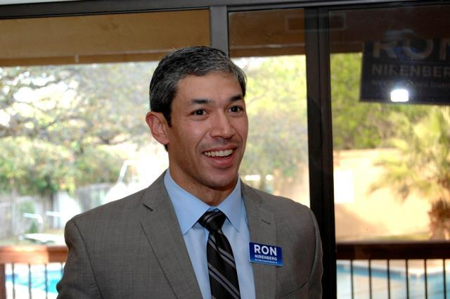 District 8 Councilman Ron Nirenberg.